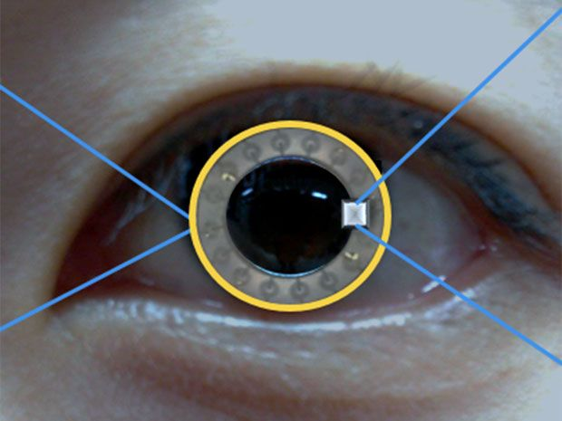 Smart Contact Lens-Eyeglass Combo Monitors Diabetes and Delivers Drugs