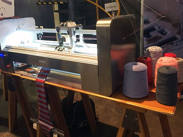 Kniterate Updates the Knitting Machine to Be an Easy-to-Use 3-D Printer for Fabric