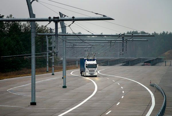 Sweden Tests Electric Roads to Give EVs Unlimited Range