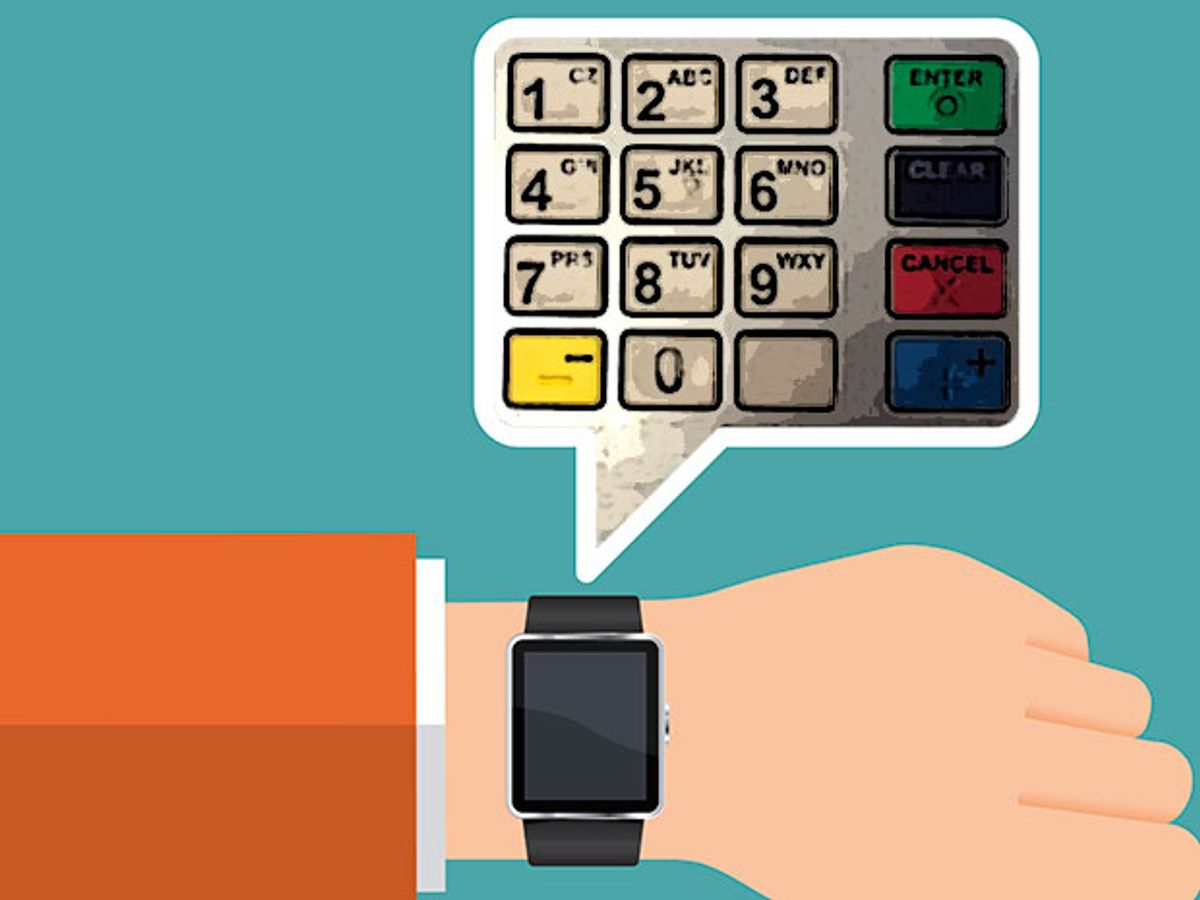 Your Smart Watch Can Steal Your ATM PIN