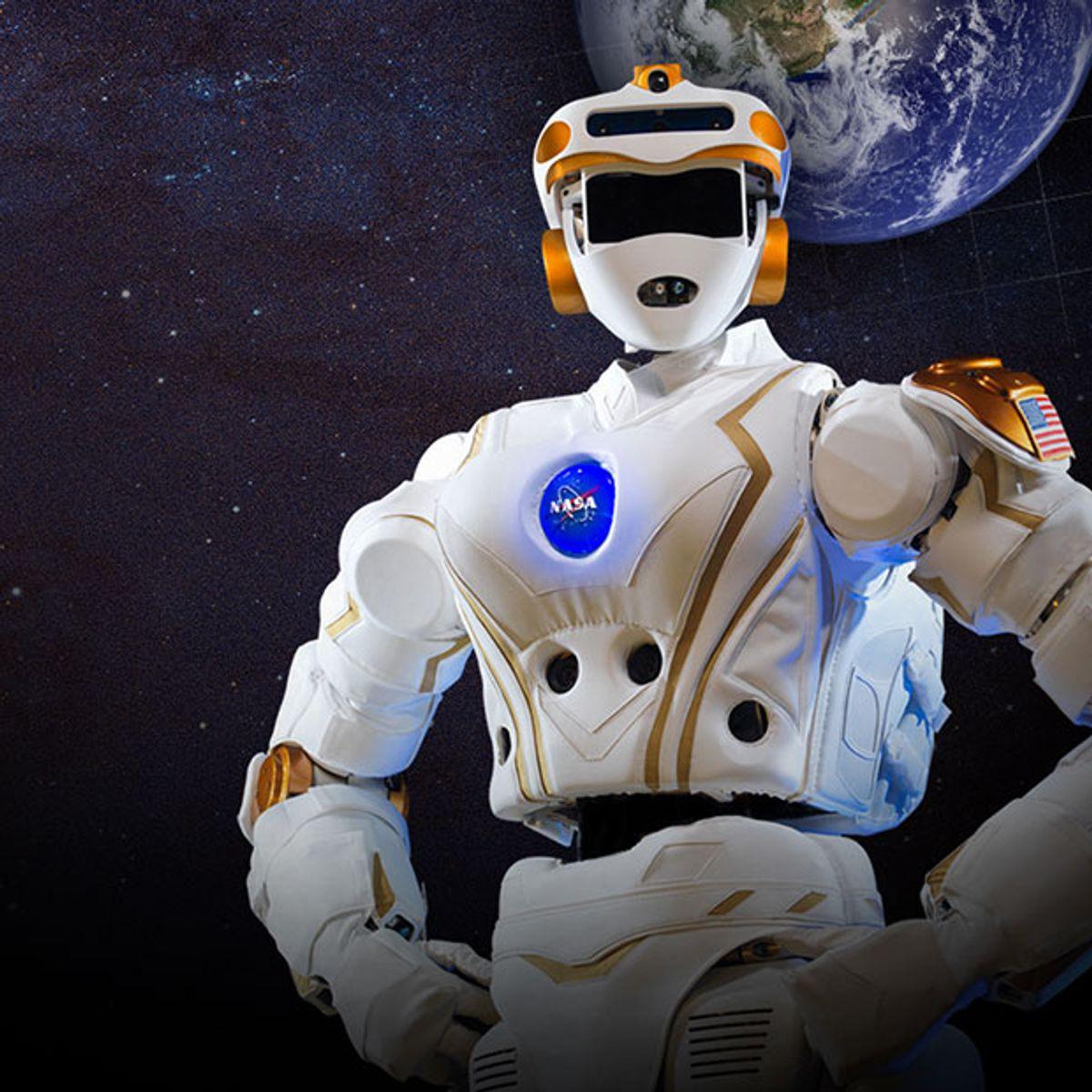NASA Space Robotics Challenge R5 Valkyrie humanoid robot