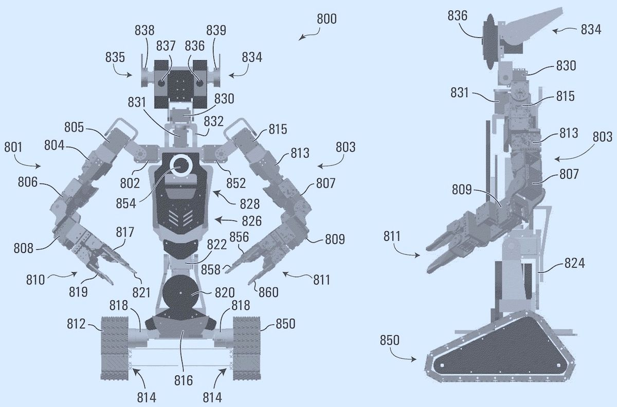 Kindred AI teleoperated robot