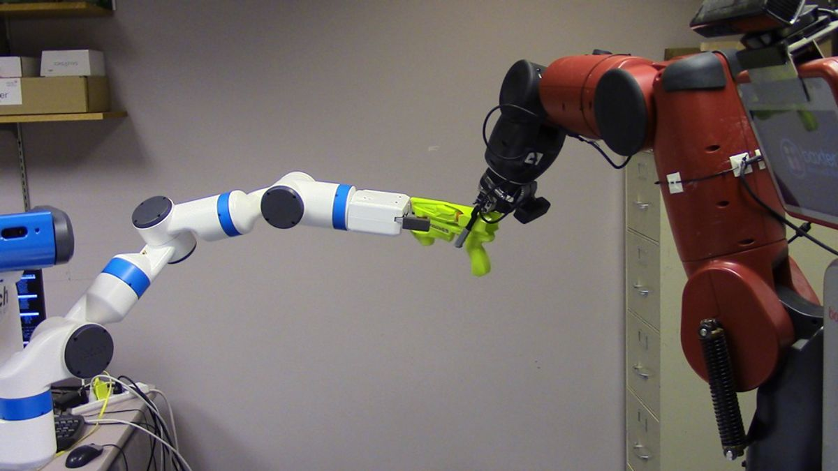 Robot Adversaries for Learning Tasks