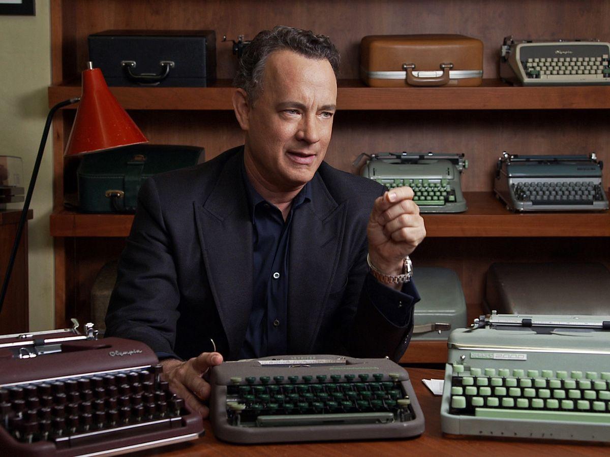 Photo of Tom Hanks in California Typewriter
