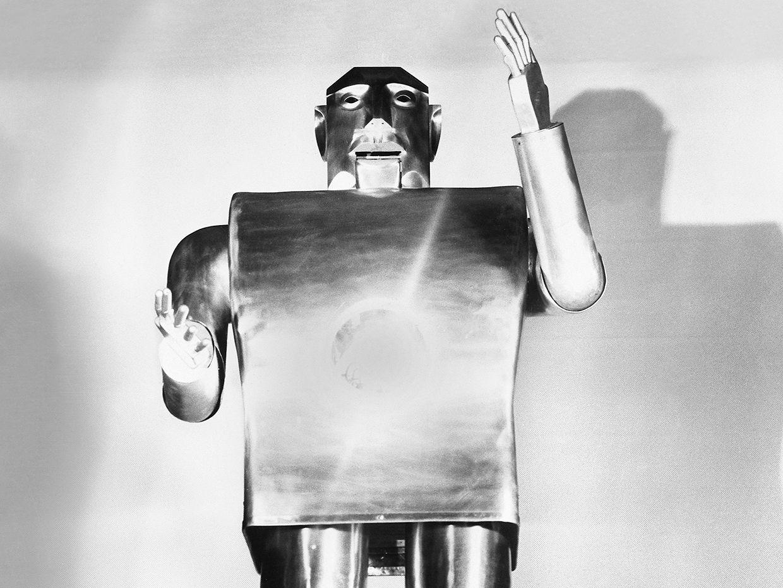 Photo of Elektro robot.