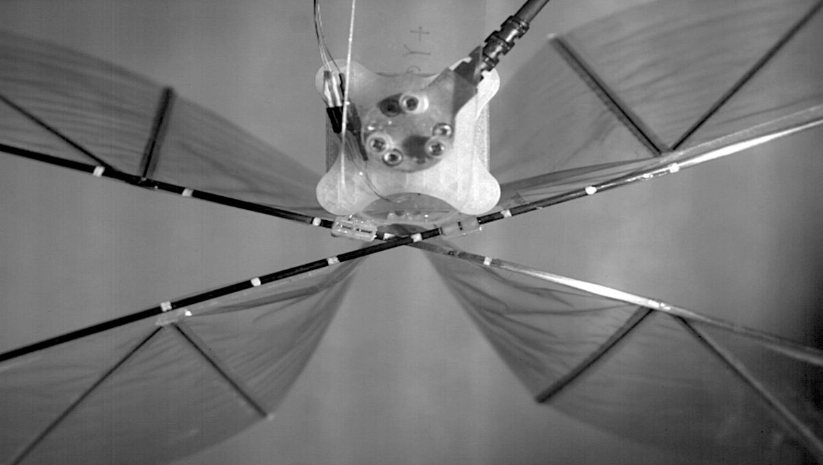 Efficience flapping-wing drone