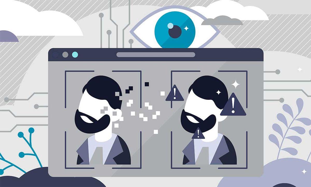 illustration - deepfakes technology