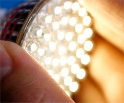 Cheaper LEDs Possible by Growing Gallium Nitride on Silicon