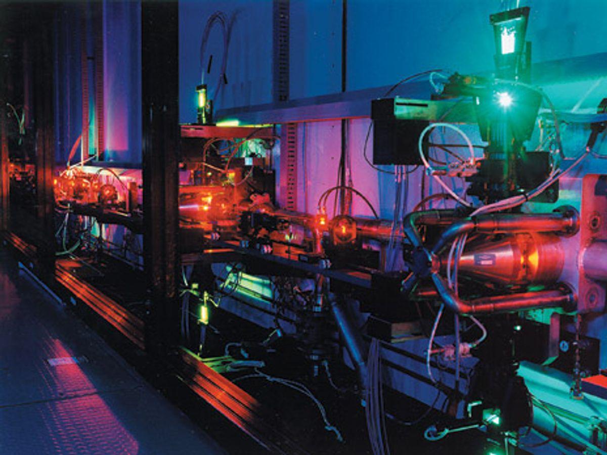 Laser Uranium Enrichment Makes a Comeback