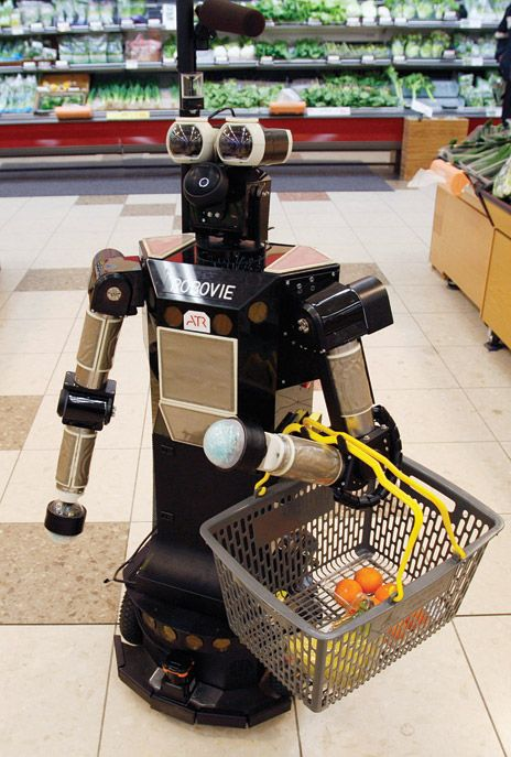 A Robot in the Kitchen