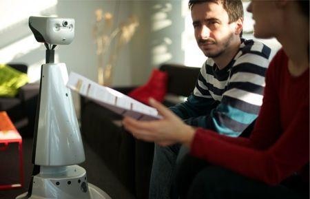 Gostai Jazz Telepresence Robot Unveiled