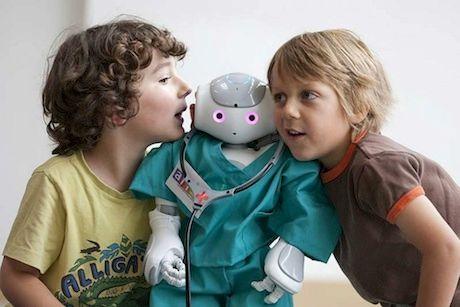 Robot Companions to Befriend Sick Kids at European Hospital