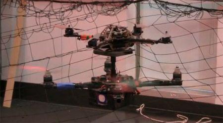 Video Tuesday: BigDog, MABEL, and Quadrotors Landing on Quadrotors