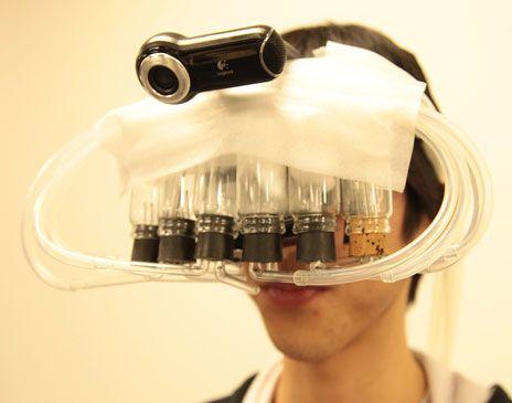 Virtual-Reality Scent System Fools Flavor Sense