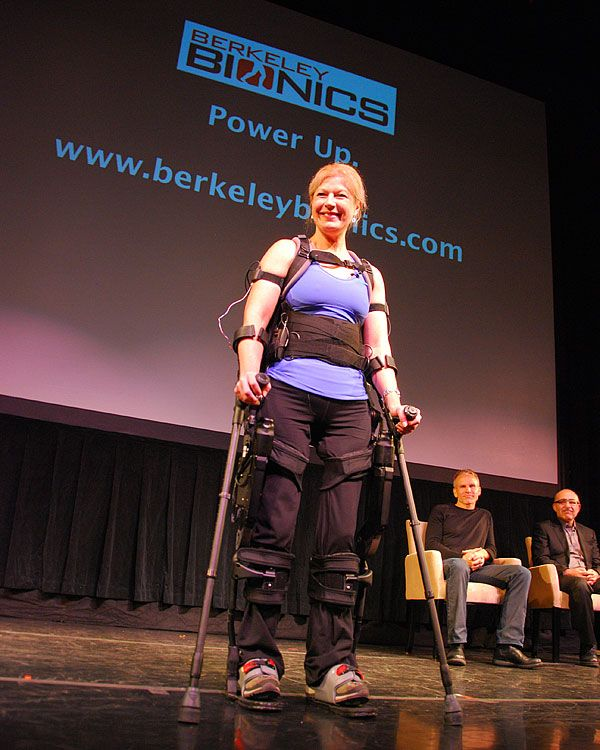 Berkeley Bionics Introduces eLEGS Robotic Exoskeleton
