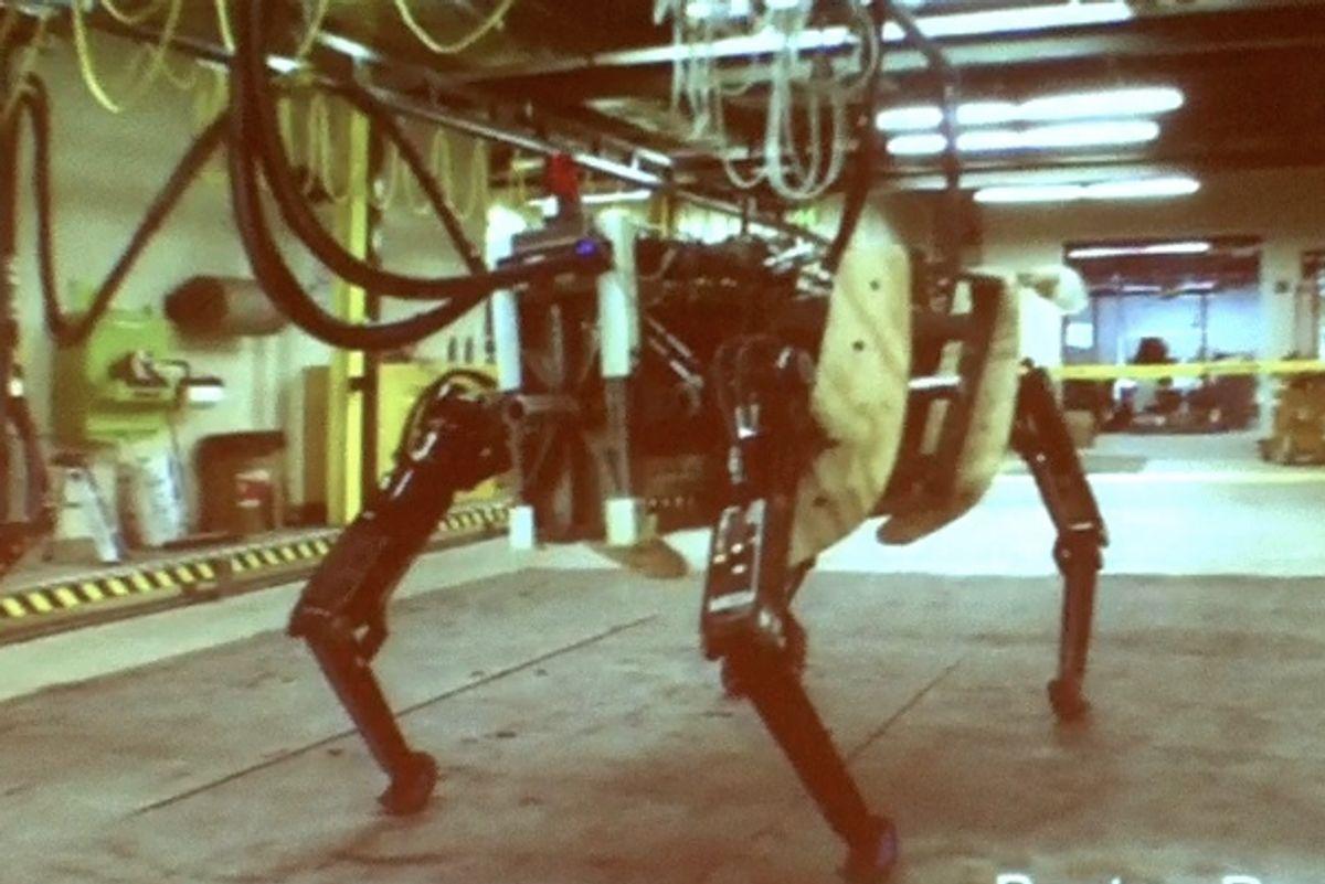 Boston Dynamics' Bigger BigDog Robot Is Alive