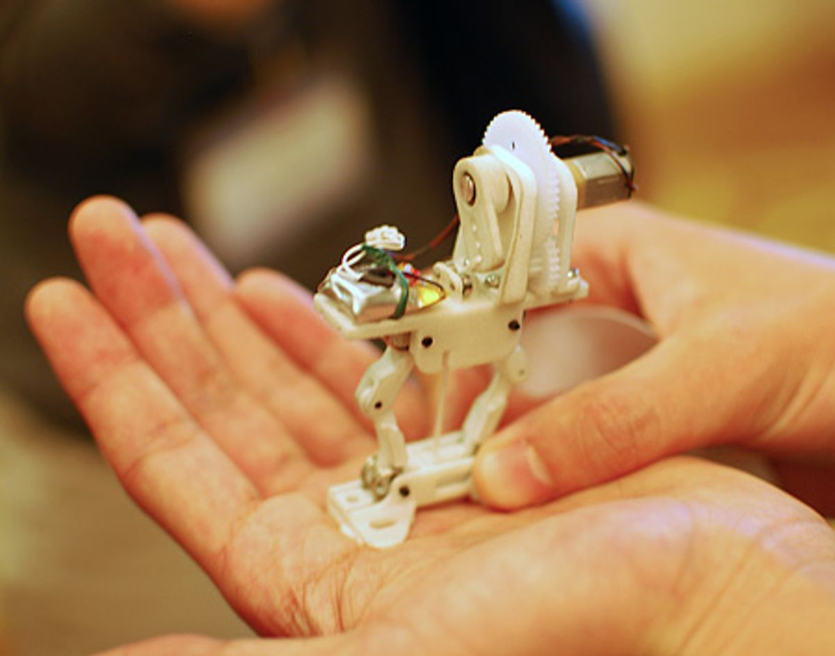 Brilliant Little Jumping Robot Only Needs One Motor