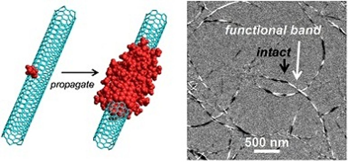 Carbon Nanotubes Get Functionalized Without Losing Key Characteristics