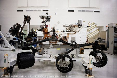 JPL Animation Shows Off New Mars Rover's Harrowing Travel Plan