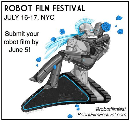 Robot Film Festival in NYC This July