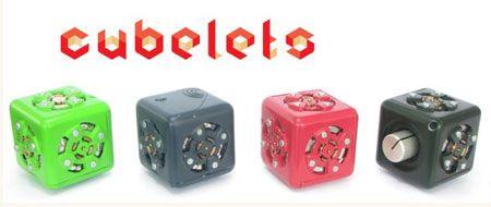 Modular Robotics' Cubelets Prototypes on Video