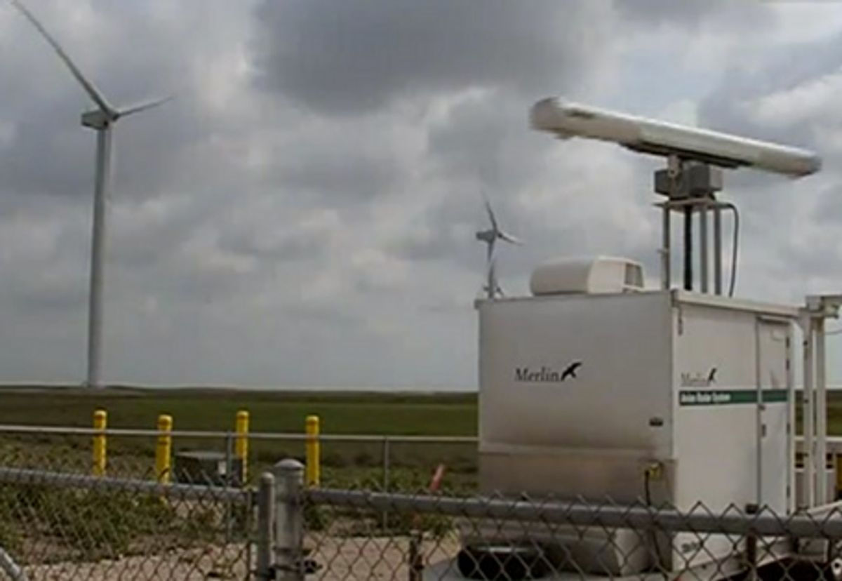 Radar Systems A Solution to Wind Power's Bird and Bat Problem?