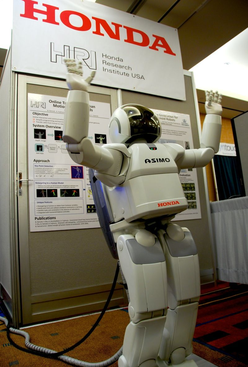 Asimo Can Copy Your Dance Moves