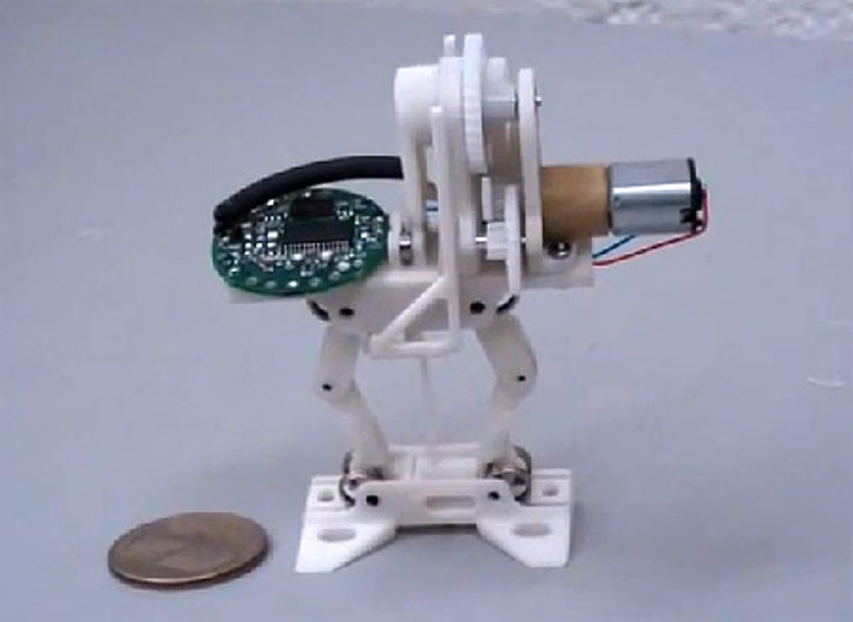 World's Cleverest Jumping Robot Gets Faster, More Agile