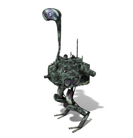 This Is What DARPA's Robot Ostrich Will Look Like