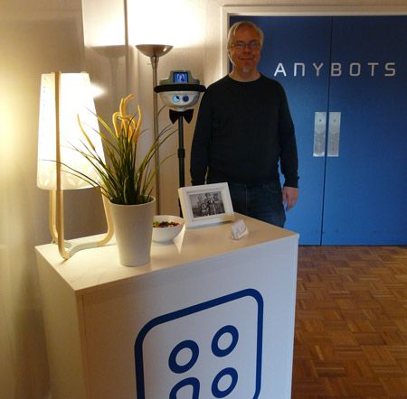 Anybots Now Offering AnyLobby Robotic Staffing Service