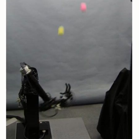 Juggling Robot Takes on Two Balls With One Very Fast Hand