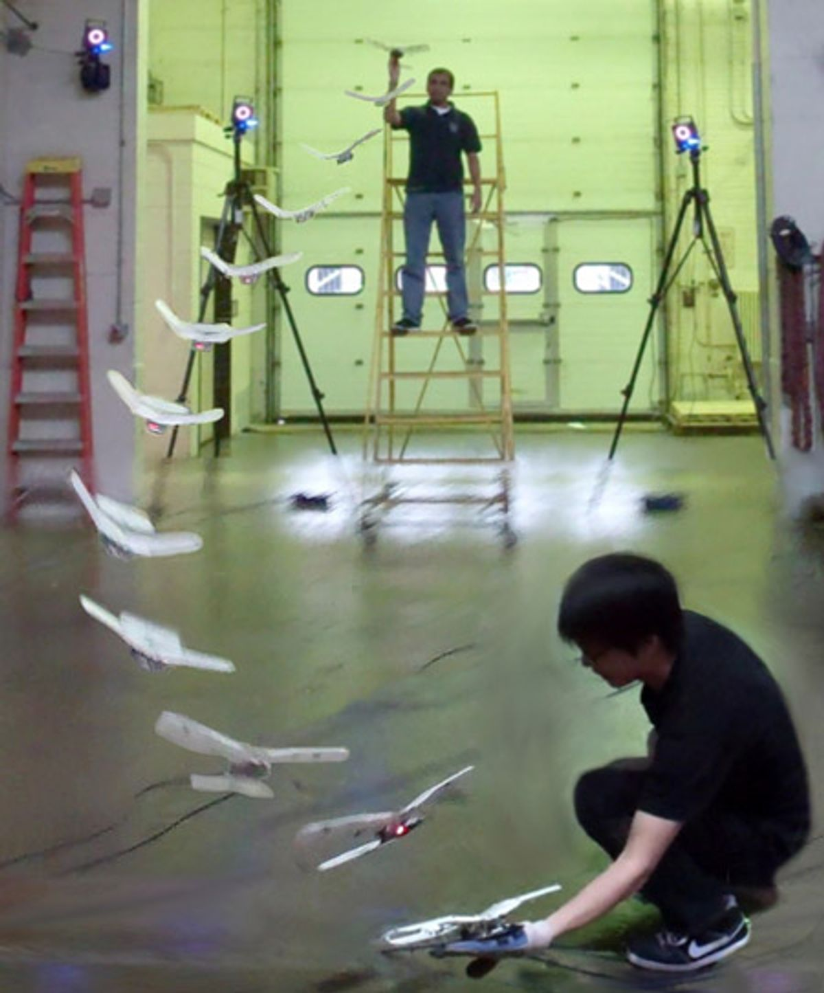Flapping Robotic Birdplane Lands Right on Your Hand