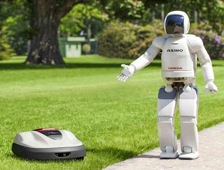 Honda Doesn't Introduce Personal Asimo, Gives Us Lawn Mower Instead