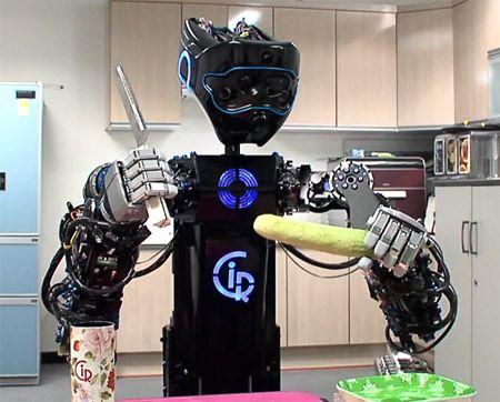 Korean Robot Will Toss Your Salad
