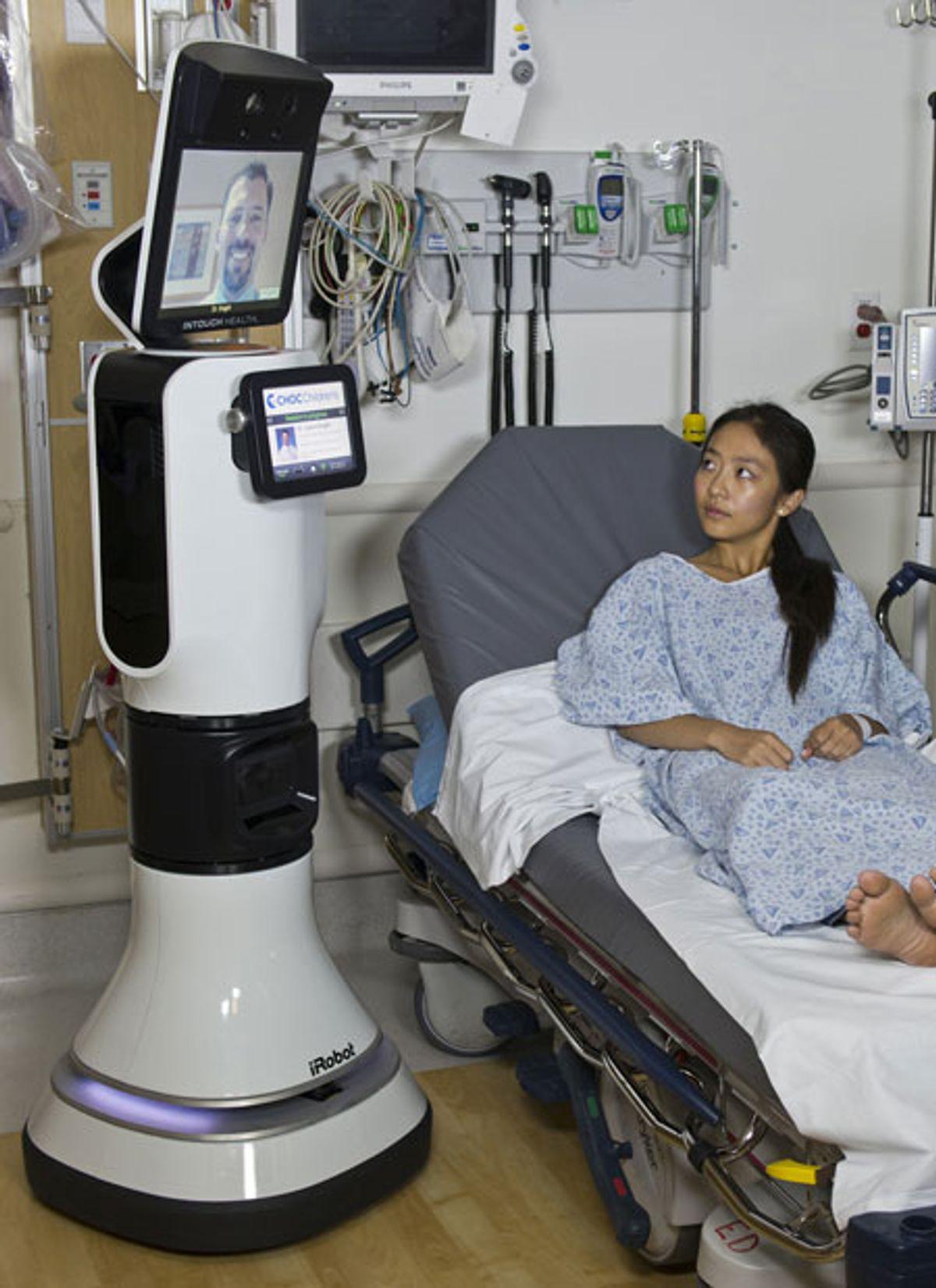 iRobot and InTouch Health Announce RP-VITA Telemedicine Robot