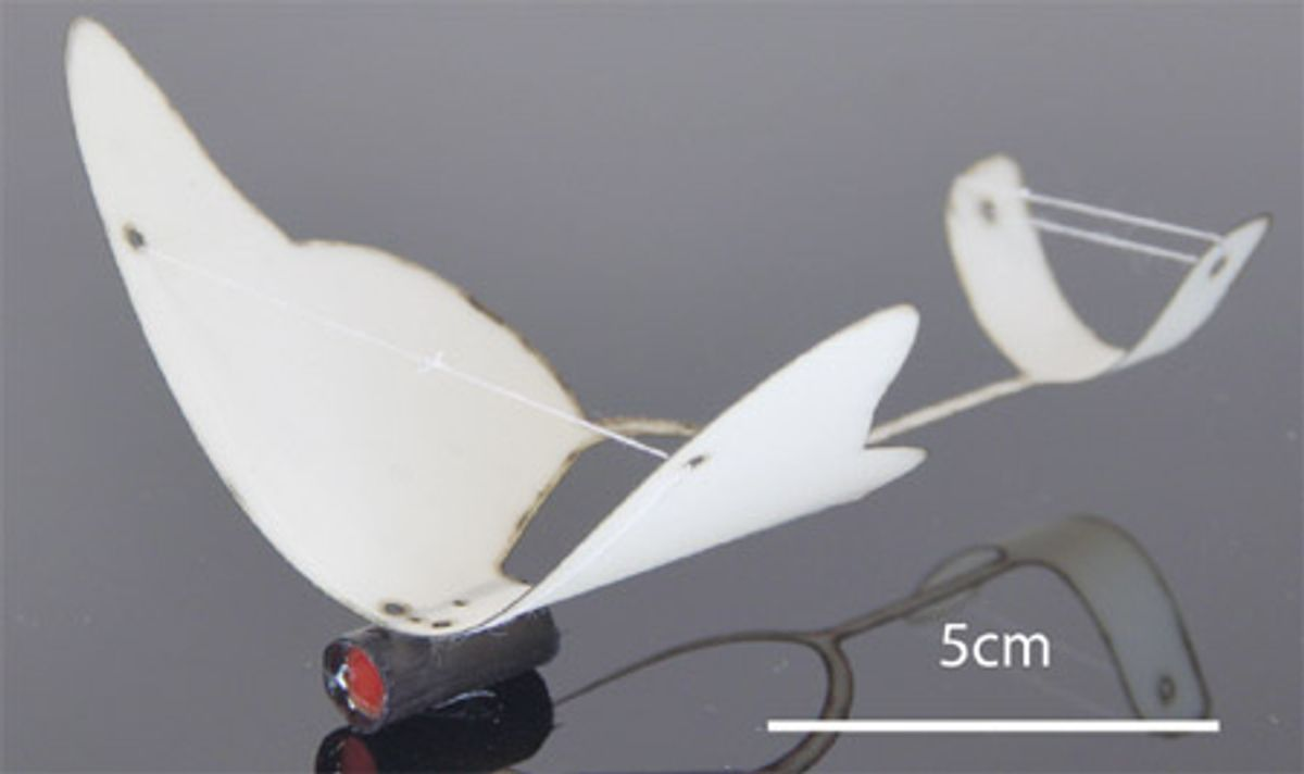Multi-stage Micro Rockets for Robotic Insects