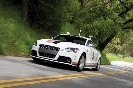 Stanford's Autonomous Racer Hits 120 MPH on the Track