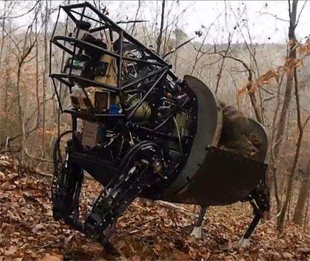 DARPA LS3 Robot Mule Learns New Tricks, Loves a Mud Bath