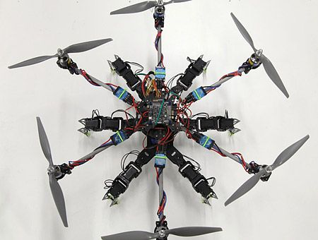 Researchers, Hobbyists Developing Flying Grasping Robots