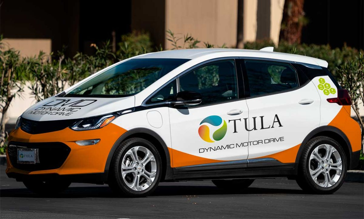 Tula Bolt DMD prototype test vehicle