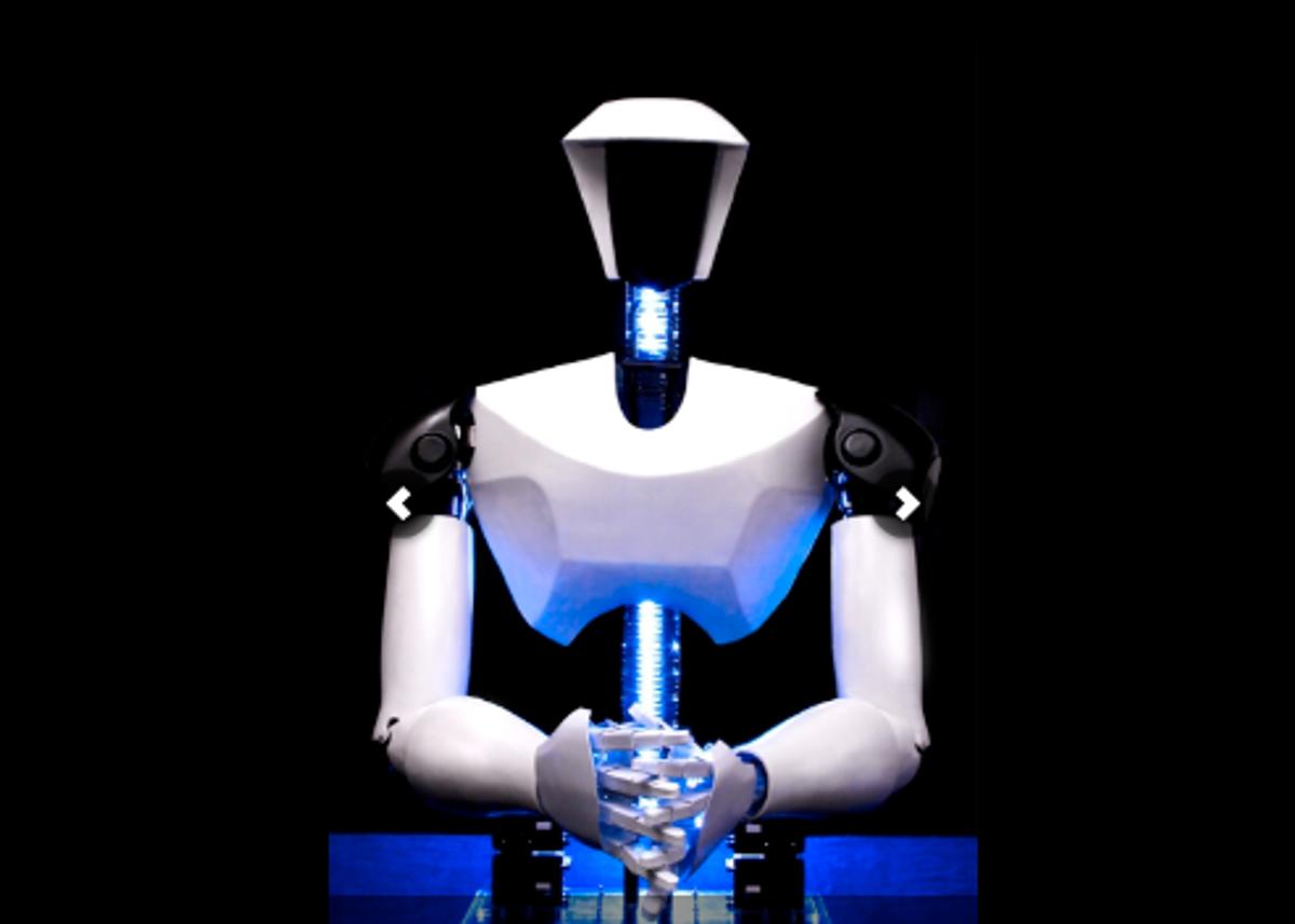 Virginia Tech's Humanoid Robot CHARLI Walks Tall