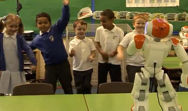 Nao Robot Goes to School to Help Kids With Autism