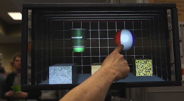 Microsoft's Robot Touch Screen Lets You Palpate a Brain