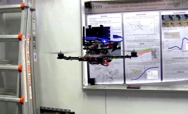 This Quadrotor Uses Google's Project Tango to Fly Autonomously
