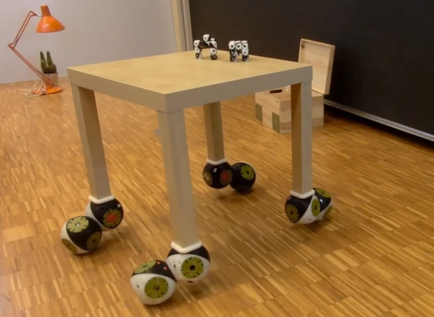 Video Friday: Robotic Furniture, Pizza by Drone, and Series Elastic Snake Robot