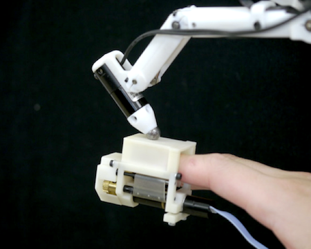 Researchers Develop Robot That Lets Them Feel Softness of Virtual Breasts