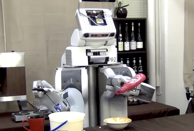 Robot Responds to Natural Language Instructions, Brings You Fancy Ice Cream