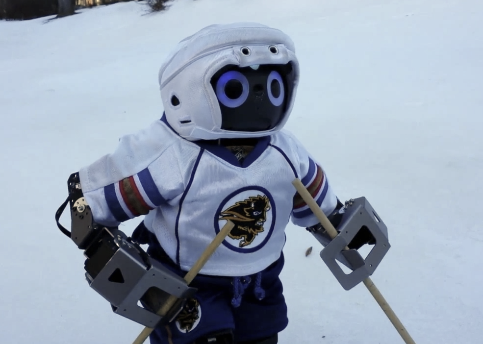 Video Friday: Robot Skiing, Cow Art by Drone, and 11 Years Roving on Mars