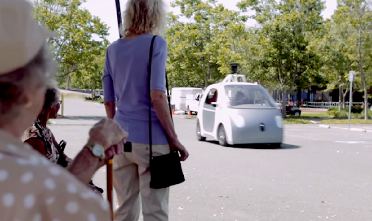 New Pedestrian Detector from Google Could Make Self-Driving Cars Cheaper