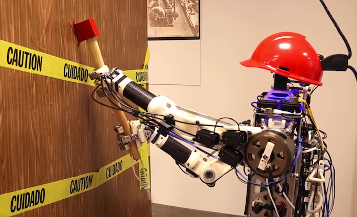 Video Friday: Robot With Axe, Drone With Claw, and Droid With Kittens